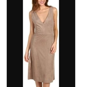 BCBGMAXAZRIA Cinder Matilde Night Out Dress suede